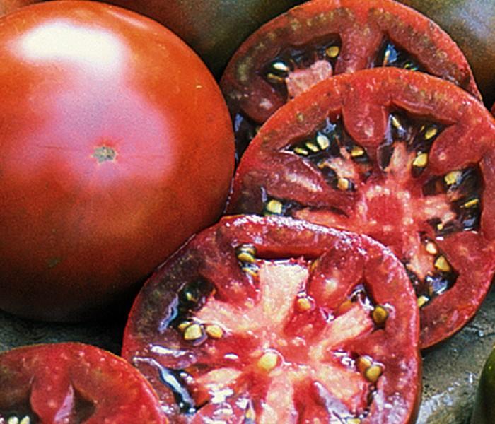 Heirloom Tomato 'Japanese Black Trifele'