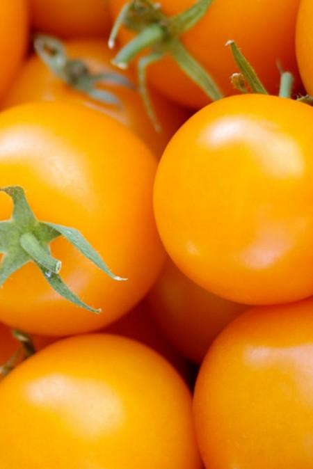 Tomato 'Orange Paruche' cherry tomato