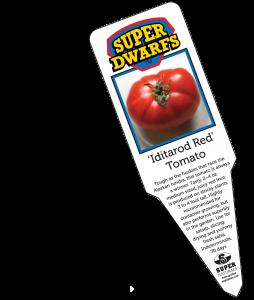 Iditarod Red Tomato label