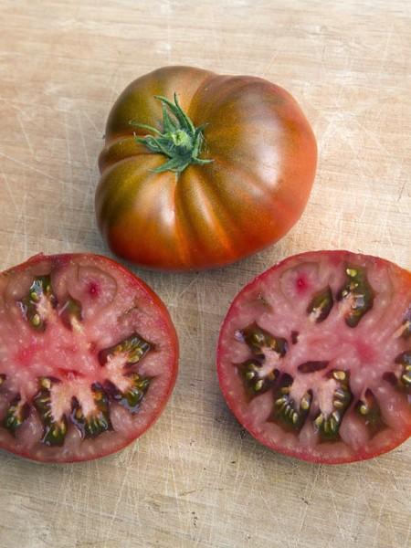 Tomato 'Tasmanian Chocolate' Super Dwarfs