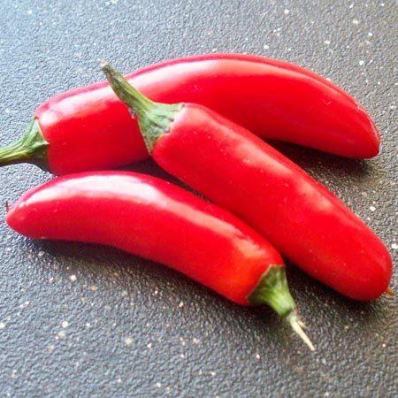 Heirloom Pepper (Hot) 'Serrano'